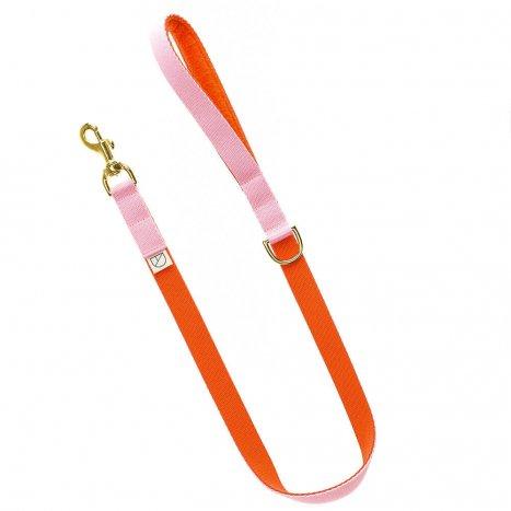 ;uxury pink dog lead and collar doggie apparel