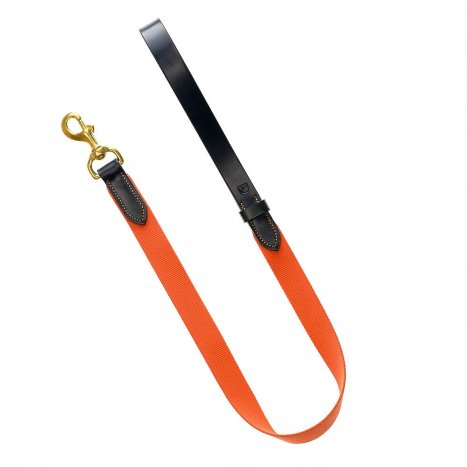 Doggie Apparel Luxury Leather Dog Lead 'Arlington'