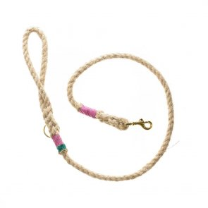 Doggie Apparel Natural Rope Dog Lead 'Shottendane'