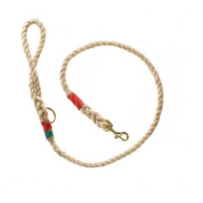Doggie Apparel Natural Rope Dog Lead 'Lonsdale'