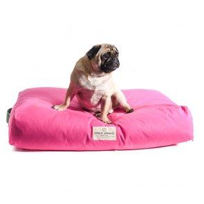 doggie apparel luxury pink dog bed 'duke'