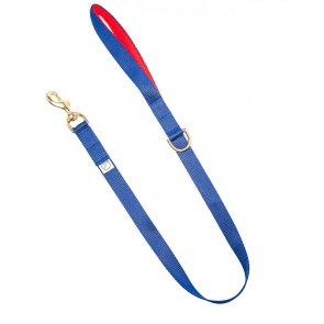 navy blue webbing dog lead doggie apparel