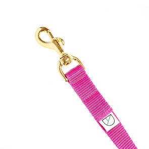 Doggie Apparel luxury handsfree dog lead in cerise pink