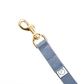 Doggie Apparel grey lightweight handsfree dog lead