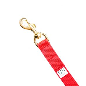 Doggie Apparel red handsfree dog lead