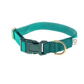 doggie apparel forest & emerald dog collar