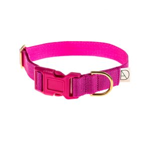 doggie apparel cerise dog collar