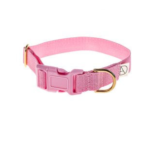 doggie apparel baby pink dog collar