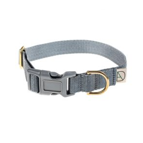 doggie apparel grey dog collar