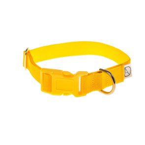 doggie apparel yellow dog collar