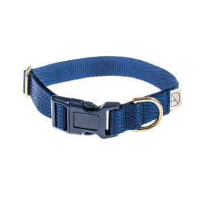 doggie apparel navy dog collar