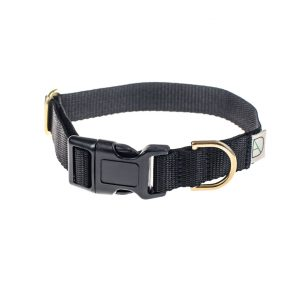 doggie apparel black dog collar