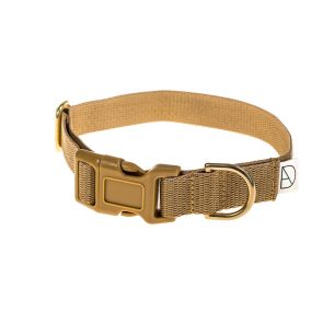 doggie apparel beige dog collar