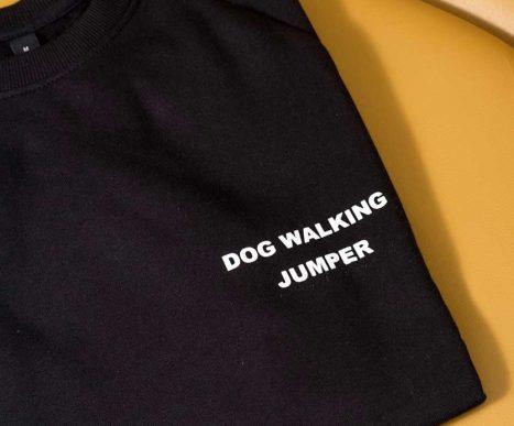 black doggie apparel sweatshirt